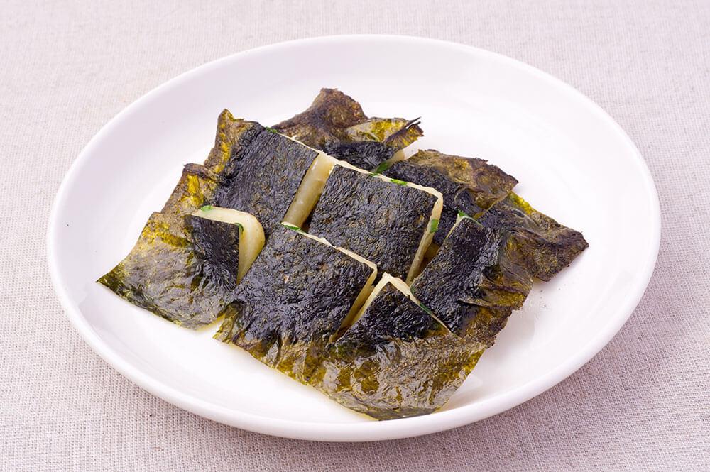 韓国海苔のチヂミ