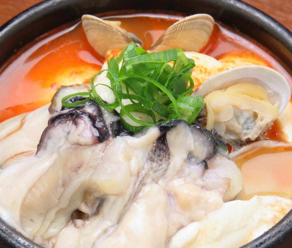 広島産牡蠣スンドゥブ