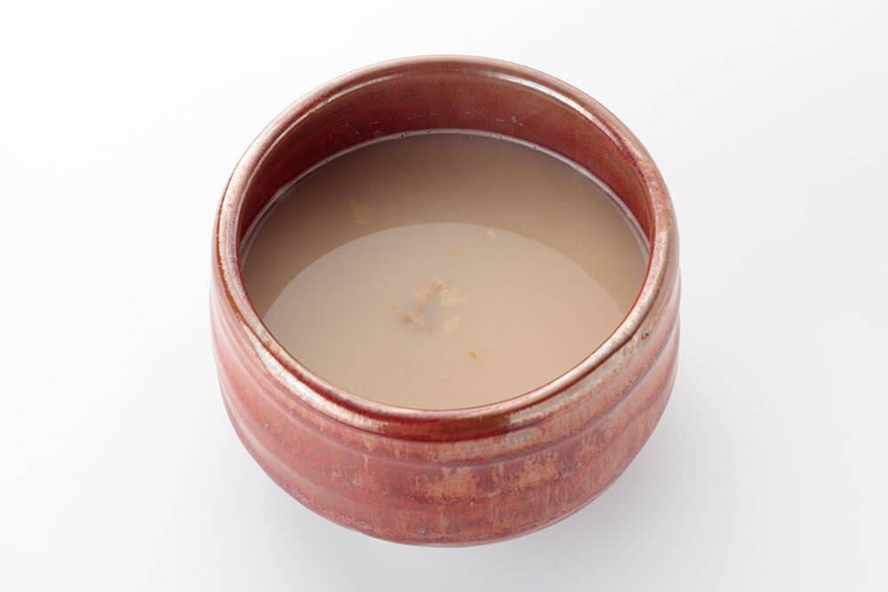 くるみアーモンドはとムギ茶