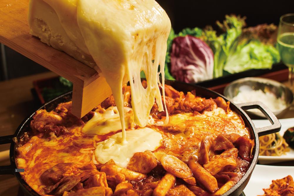チーズサムギョプサル食べ放題コース