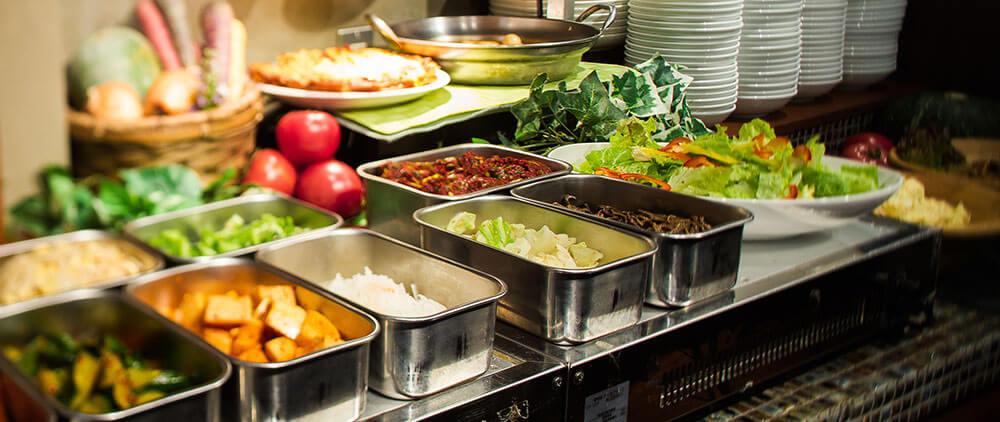 韓国デリカ(惣菜)ビュッフェ