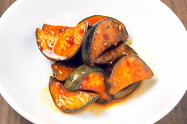 茄子キムチ